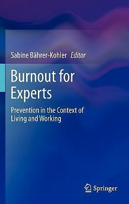 Burnout For Experts  9781461443902