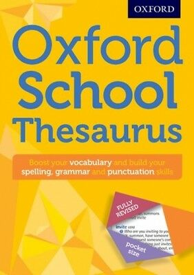 Oxford School Thesaurus Oxford Dictionaries 9780192747112