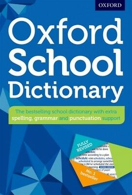 Oxford School Dictionary Oxford Dictionaries 9780192743503