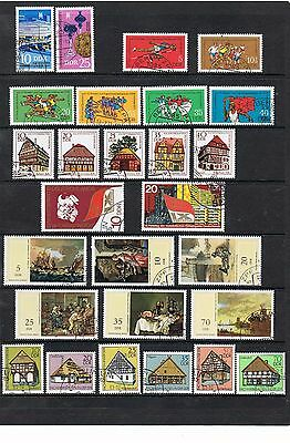 STAMPS  GERMANY - DDR SELECTION  of 27     (FU - CTO)    lot 1234