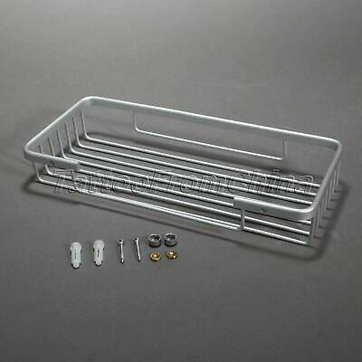 WALL MOUNTED SHOWER Caddy Bar Shelf Bathroom Kitchen Soap Shampoo ...