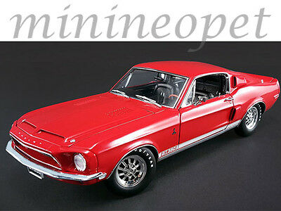 Acme A1801808 1968 Ford Shelby Mustang Gt 350 Wt Color Code 4017 Release #4 1/18