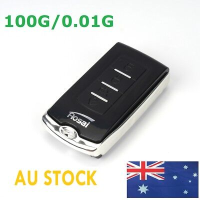 LCD Mini Pocket Digital Car Key Style Scale Ultrathin 100g/0.01 Light Weight OZ