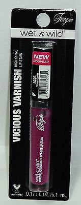 1 Wet N Wild Fergie Vicious Varnish High Shine Lip Gloss STREET QUEEN A303 NIP