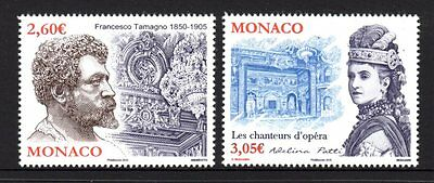 Monaco 2015 French Opera Set 2 MNH