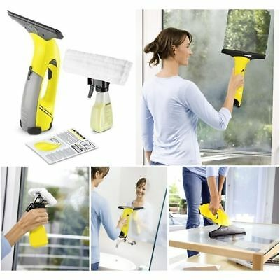 New Karcher Wv 2 Plus - Window Vac, Clean Wash And Dry Squeegee Off Water / Soap