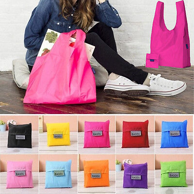 New Eco Shopping Travel Shoulder Bag Pouch Tote Handbag Folding Reusable Bags