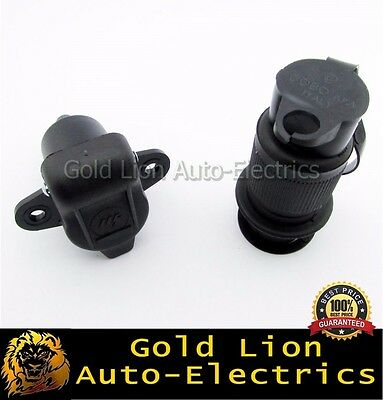 180307 & 180308 Universal 3 Pin Heavy Duty Winch Control Power Plug And Socket