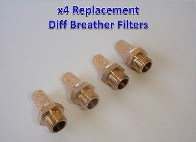 Diff Breather Kit -Replacement Filter 4x4 Toyota Landcruiser Hilux Prado  Nissan