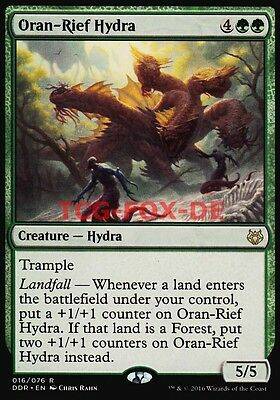 Oran-Rief Hydra ● Duel Decks: Nissa vs. Ob Nixilis ● M/NM ● Magic MTG