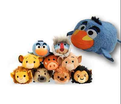 7 Styles Disney TSUM TSUM Lion King Mufasa Simba Rafiki Plush Toys With Chain