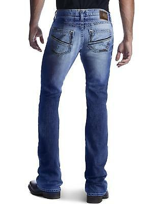 Ariat Men's M7 Rocker Shotwell Cinder Boot Cut Jeans - 10018374