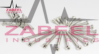 Cortical screws 2.0 mm Ø Self Tapping Different Length 120 PC Full Set Zabeelind