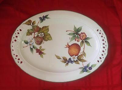 Vintage Brunelli  Plate Platter Italian Signed Tiffany Made In Italy