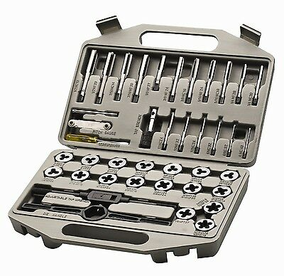 Allied Tools 49035 41-Piece SAE Tap and Die Tool Set 41 piece