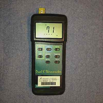 Extech Dual K Thermometer