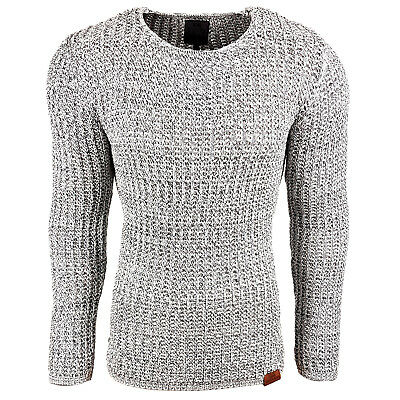 Subliminal Mode - Pull Over Col arrondi Homme Tricot SB-13267 Petite Maille