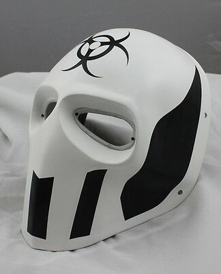White PROP Paintball Airsoft Full Face PC Lens Eye Protection Skull Mask