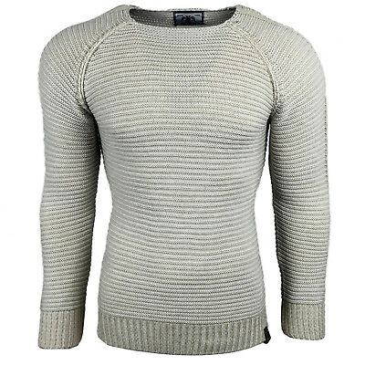 Subliminal Mode - Pull Over Fin Col arrondi Homme Tricot SB-17007 Petite Maille