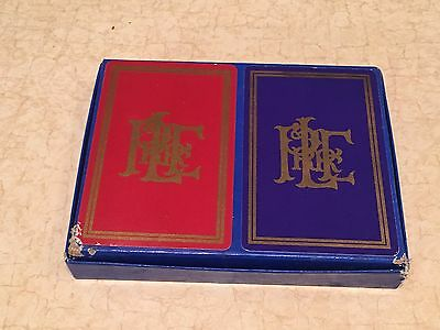 Vintage Pittsburgh & Lake Erie Railroad Playing Cards Double Decks SEALED