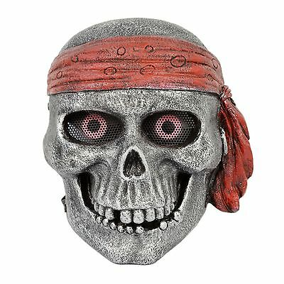Silver Airsoft CS Paintball  Wire Mesh Protection King Of Pirate Mask Cosplay