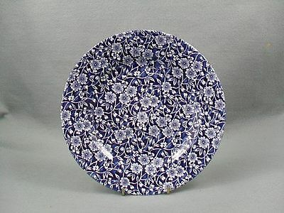 Queen's Victorian Calico Blue Salad Plate