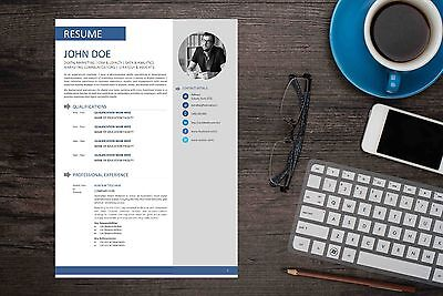Clean MS Word Resume Template - Fully Editable