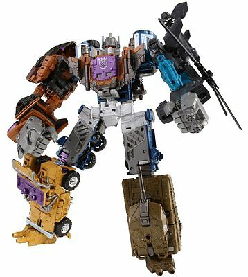 NEW Takara Tomy Transformers Unite Warriors UW-07 Combaticons Combiner Bruticus