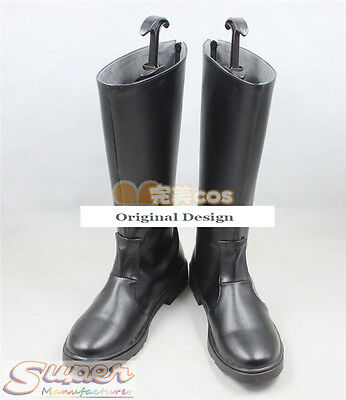 Hot Sale Fullmetal Alchemist Uniform Boot Party Shoes Cosplay Boots Custom-made