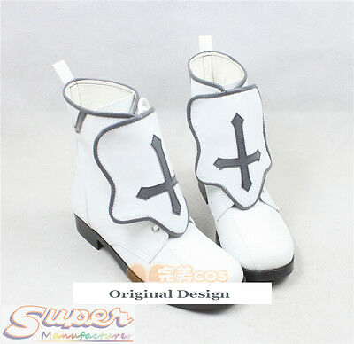 Hot Sword Art Online SAO ALO Asuna Yuuki Asuna Boot Party Shoes Cosplay Boots