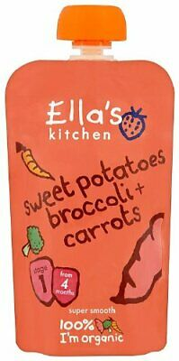 Baby Food - Sweet Potatoes, Broccoli & Carrot - 120g - Pack of  7