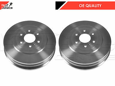 For Nissan Navara D40 2.5 3.0 Td Rear Left Right Brake Shoes Drum Drums 05-10