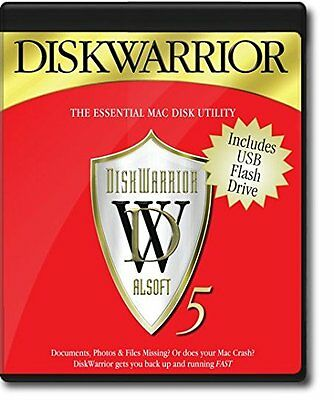 Disk Warrior 5 - Mac select Version 5 Edition