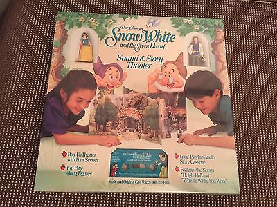 Walt Disney's Snow White and The Seven Dwarfs Sound & Story Theater ~ NEW IN BOX