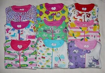Tcp Baby Girl 1Pc Stretchie Footed Sleeper Cotton Pajamas Jammies 03-24M 2T-5T