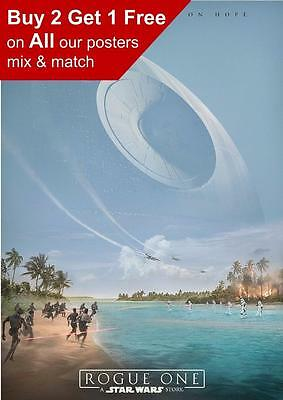 Star Wars Rogue One  Poster Print