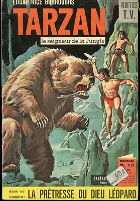 BD Tarzan le Seigneur de la Jungle No. 13 Edgar Rice Burroughs 1969