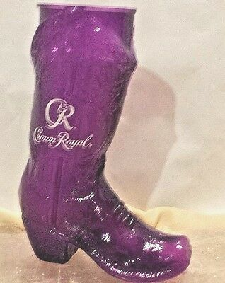 Crown Royal Purple Plastic Boot~~~Never Been Used.