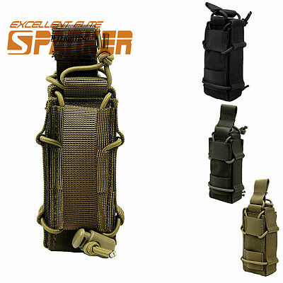 Decker 1000D MOLLE Magazine Pouch military army bag Utility Flashlight Pouch
