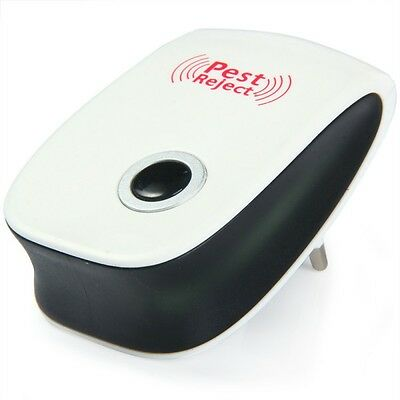 Indoor Electronic Pest Reject Repeller Ultrasonic Anti Mosquito Insect Killer