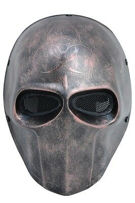 NEW Paintball CS Airsoft Wire Mesh Protection Mask Skull PROP  Halloween F634