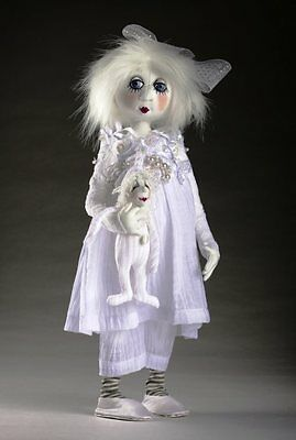 """*new* Cloth Art Doll (E-Pattern) """"snowdrop And Frosty"""" By Jill Maas"""