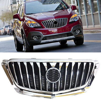 New Front Hood Grill Grille Chrome For Buick Encore 2012-2016