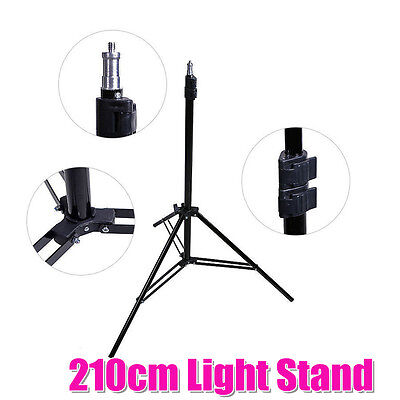 210cm Heavy Duty Photo Tripod Lighting Light Stand Umbrella Softbox Support AU