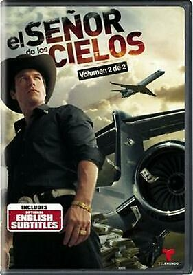 El Senor De Los Cielos Vol 2 - DVD Region 1 Free Shipping!