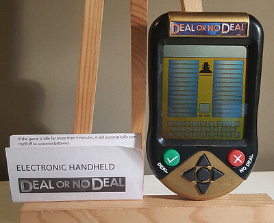Deal or No Deal Electronic Handheld w/ Instructions - Irwin Toy - Working!