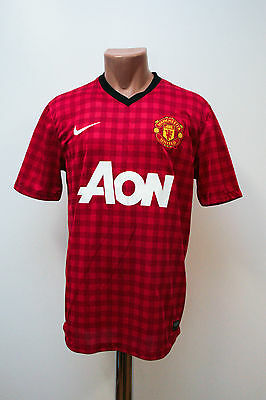 Size M Manchester United England 2012/2013 Home Football Shirt Jersey Nike