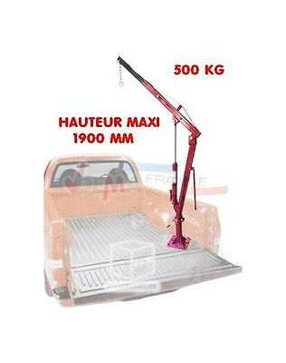 "Grue de Pick-Up ""HIGH LEVEL"" - 500 kg D24429"