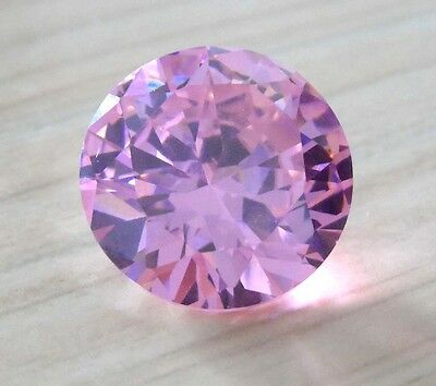 Wholesale! AAAAA Pink Sapphire Round Shape Faceted Cut VVS Loose Gem U Pick Size