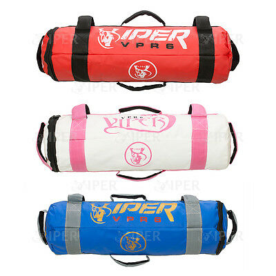 Viper Power Cloth Sand Filled Crossfit Power Bag Training Mma Fitness 0-25kg